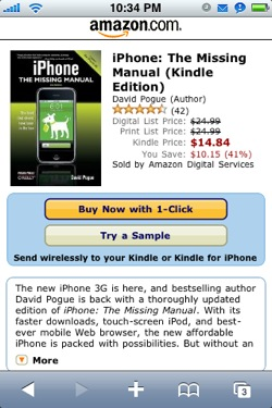 how to download books onto my kindle app on iphone